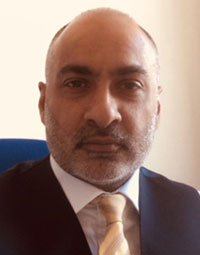 Zia Chaudhry MBE