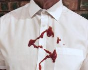 Stained shirt